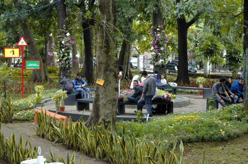 Taman Pustaka Bunga Bandung