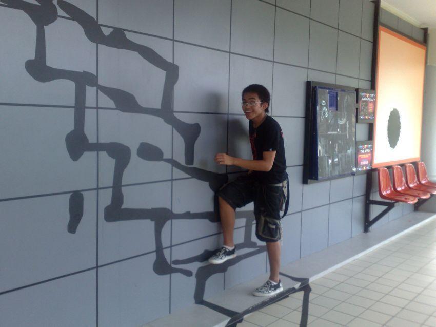 Pilih tangga dibanding lift