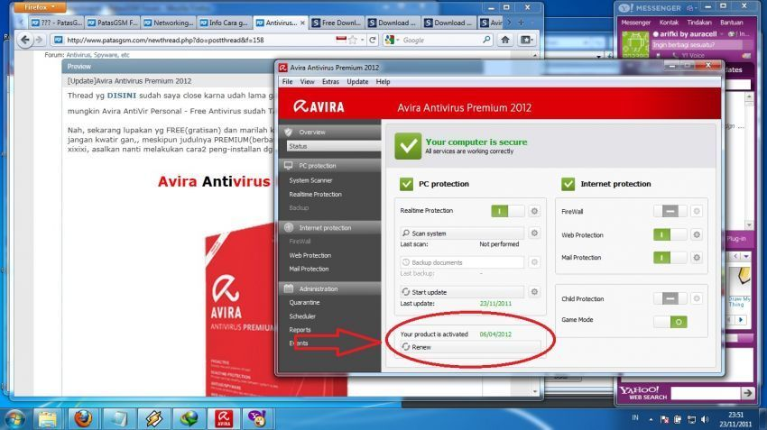Download 90-days avira internet security suite 2019 trial with.