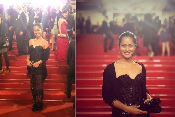 Prisia Nasution selalu cantik dengan kulit coklat eksotisnya