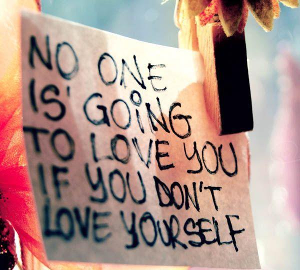 Cintai dirimu sendiri