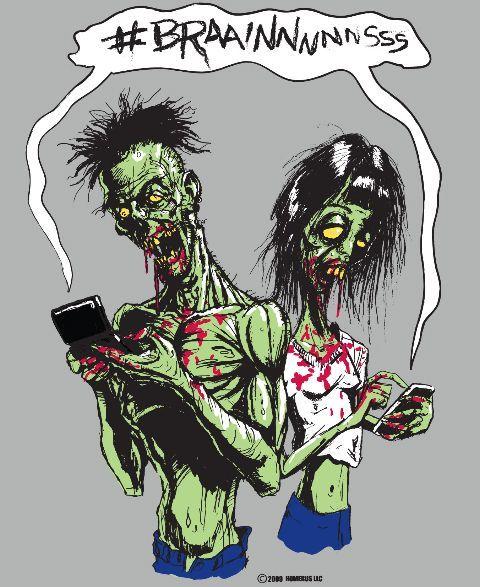 Keseringan nunduk, kamu jadi kayak zombi