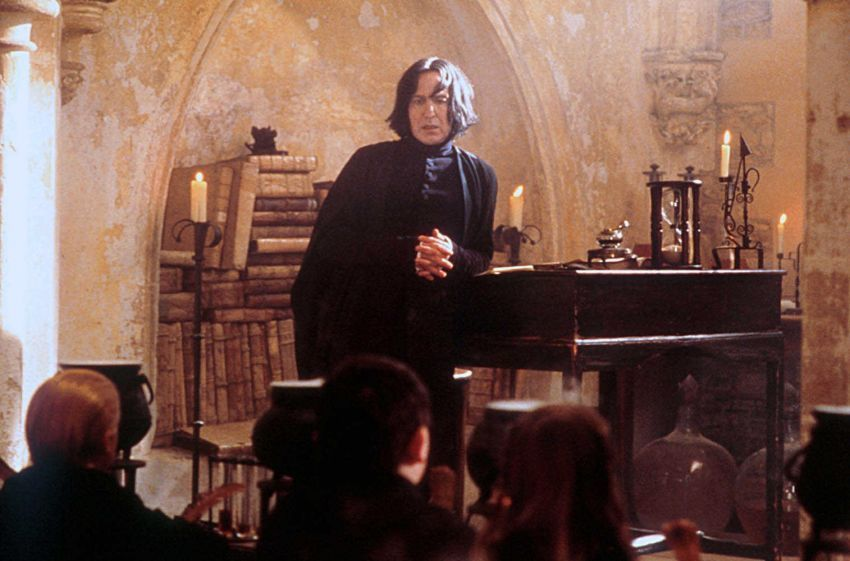 Nyaris se-killer Professor Snape