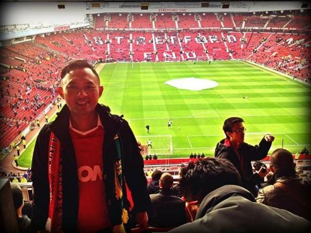Bermimpi bisa ke Old Trafford