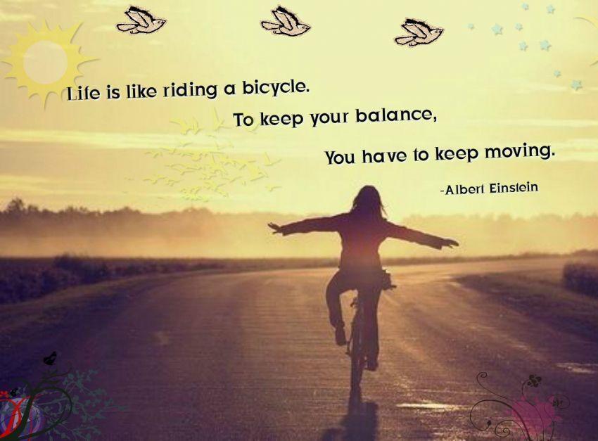hidup itu terus berputar dan berjalan