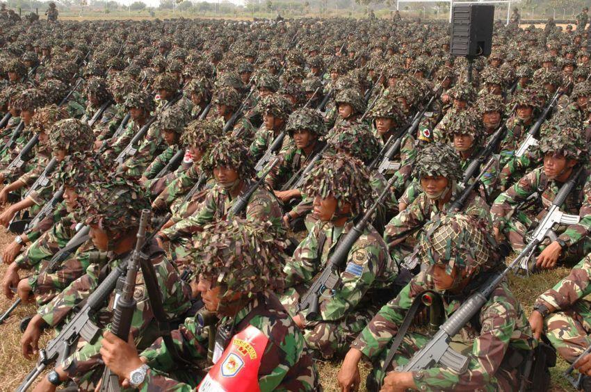 Pilihan berkarir di militer terbuka lebar