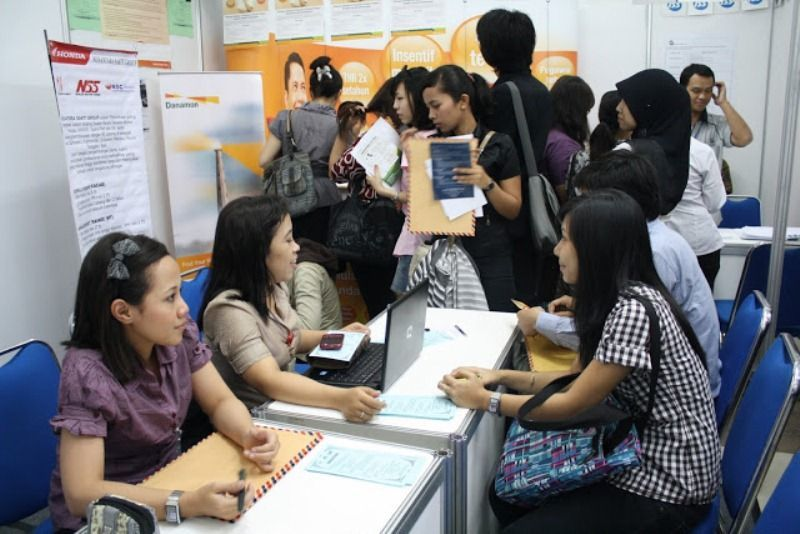 Rajin ikut job fair