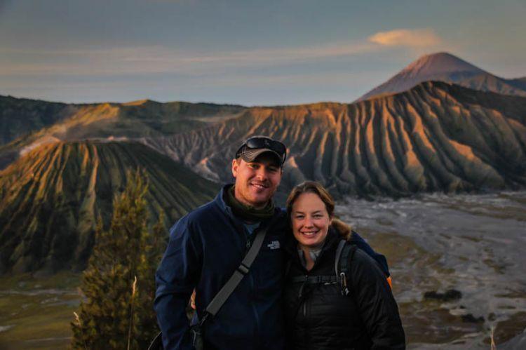 Menikmati gunung Bromo berdua