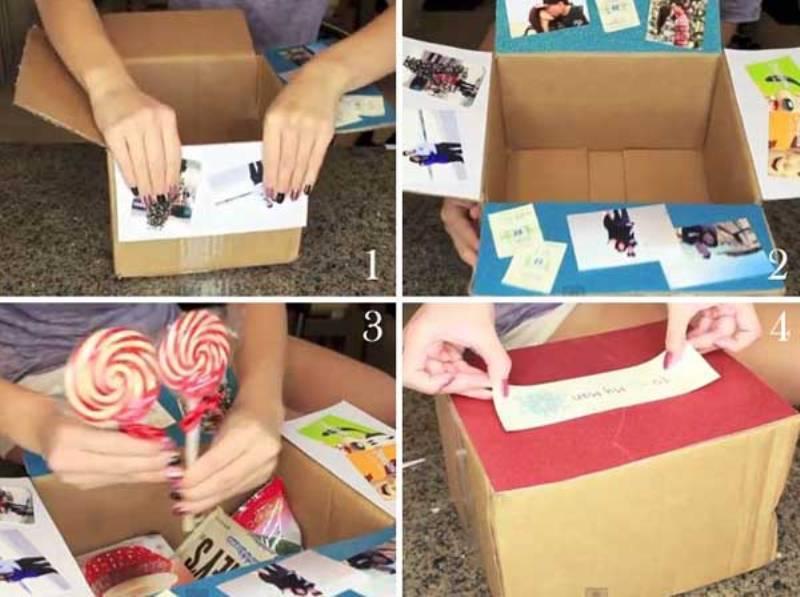 Как сделать подарок другу своими руками картинки