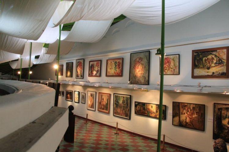 Salah satu sudut museum Affandi