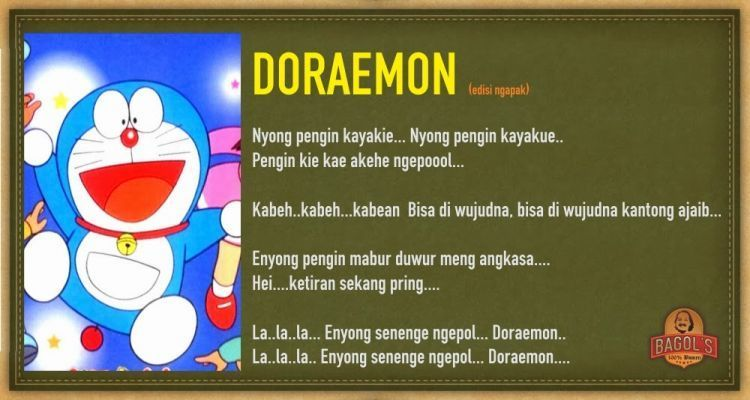 Versi doraemon