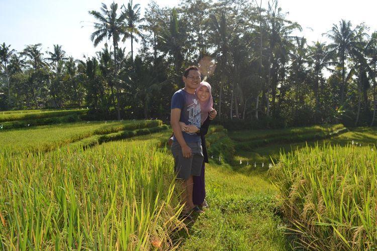 Ubud, tempat romantis idaman para pengantin baru
