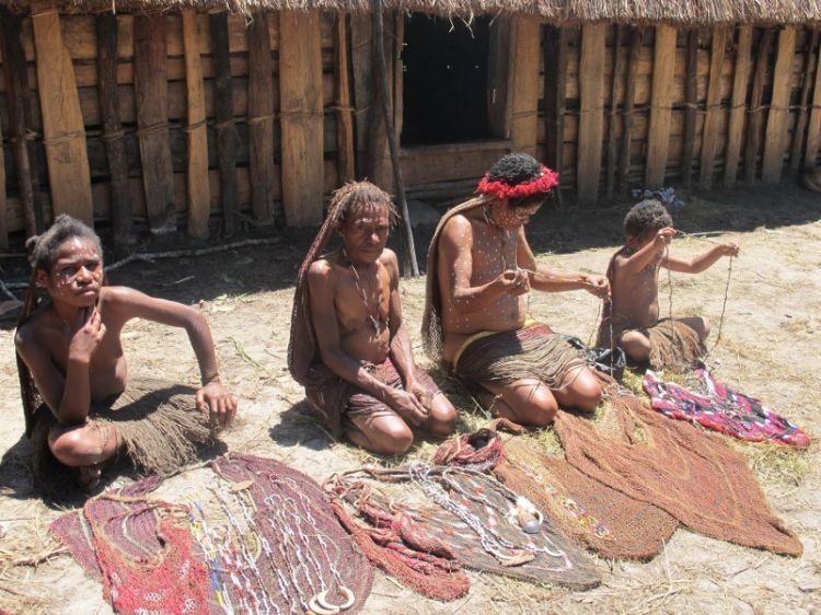 Ini dia pasar kaget di Wamena