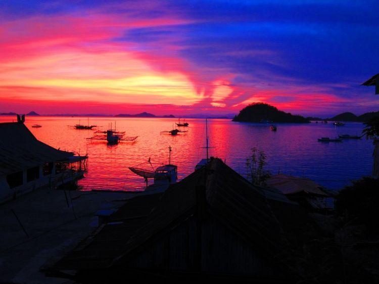 Sunset epic di labuan bajo
