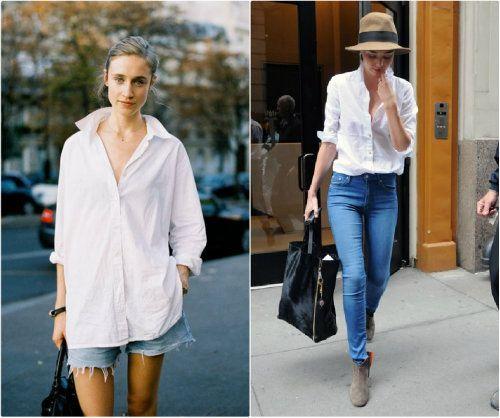 Padu padan kemeja putih dengan jeans tidak membosankan