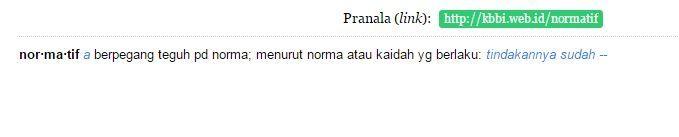 Normatif