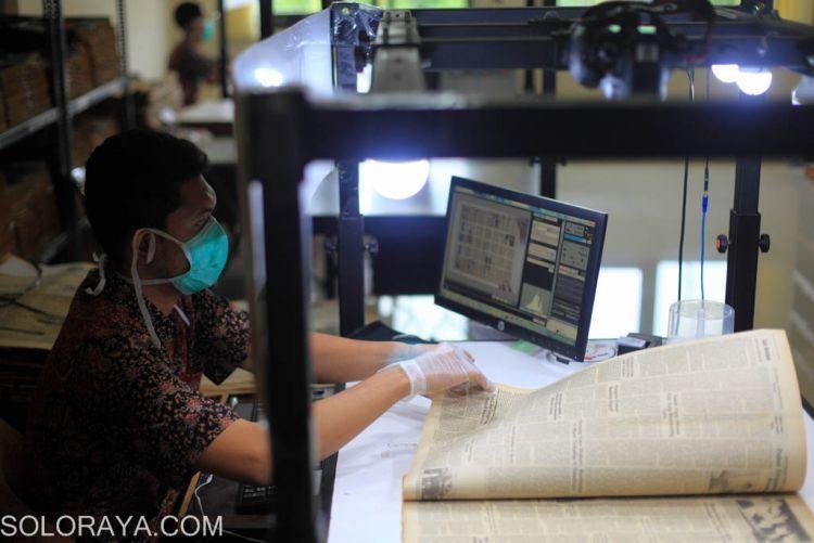 Pengarsipan digital di Monumen Pers