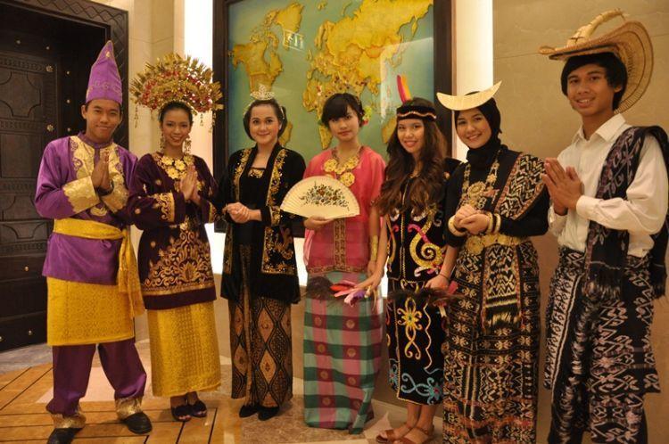 Bangsa Indonesia lebih beragam
