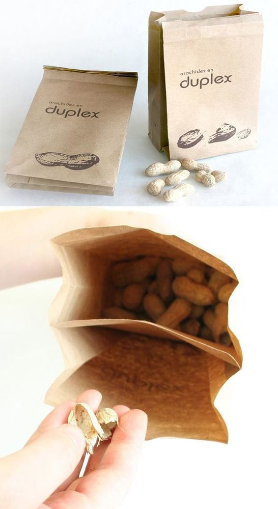 Jualan kacang? kemas dengan cara ini