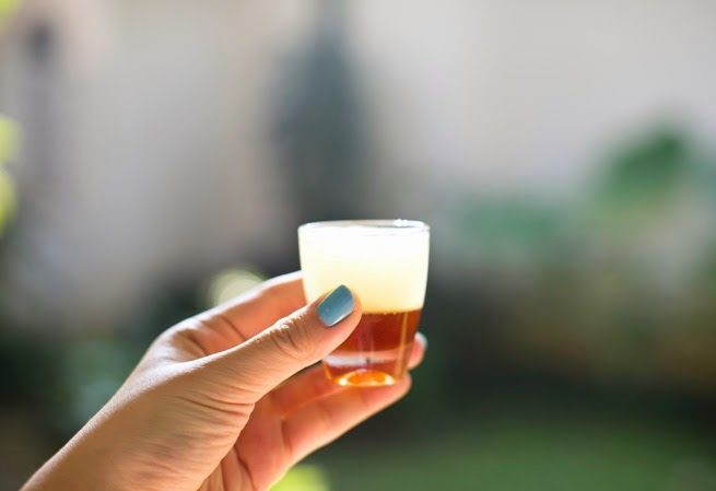 Honey lemon shot
