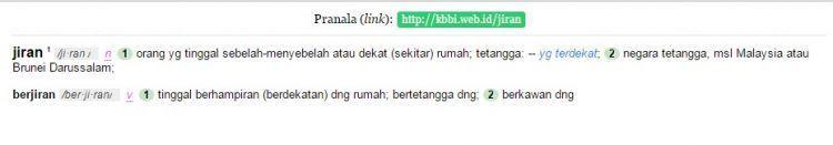Jiran = bukan cuma Malaysia