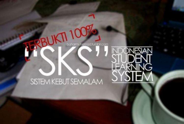 belajar pakai SKS