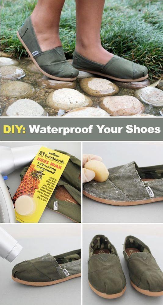 Dilema bagi para pengguna sepatu kanvas adalah ketika hujan sepatu akan  basah kuyup karena air yang tembus ke dalam sepatu. 9e4d44bd8c