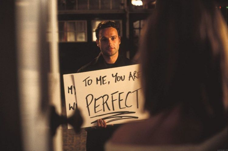 And my wasted heart will always love you (Love Actually)