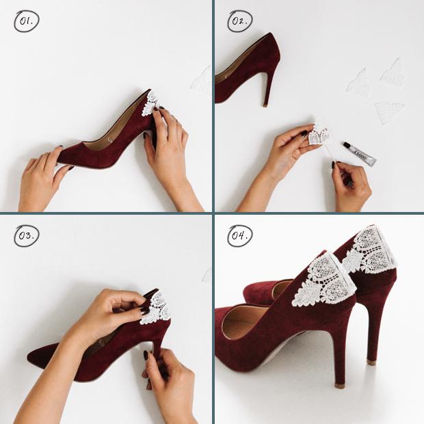 HIgh heels berenda