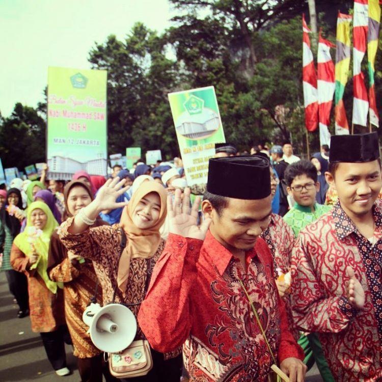 Tetep rame-rame ke masjid