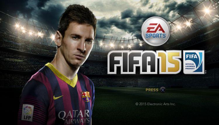 FIFA 15 come to the rescue!