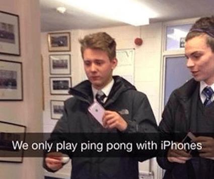 Ping pong dulu coy