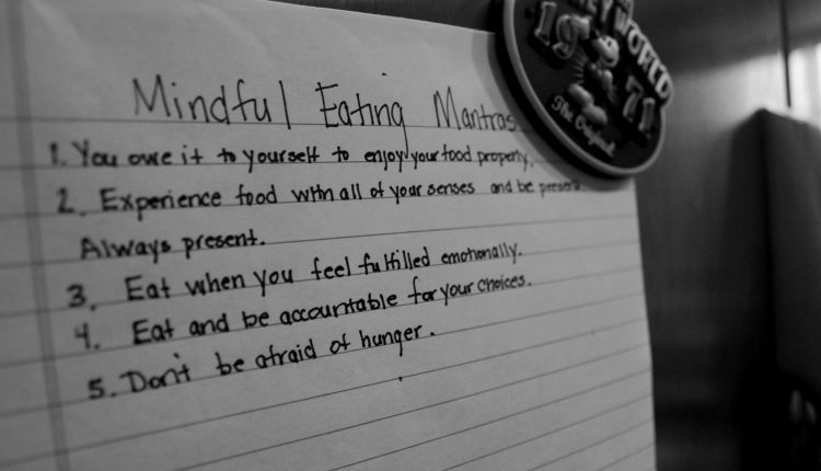 Mantra Mindful eating