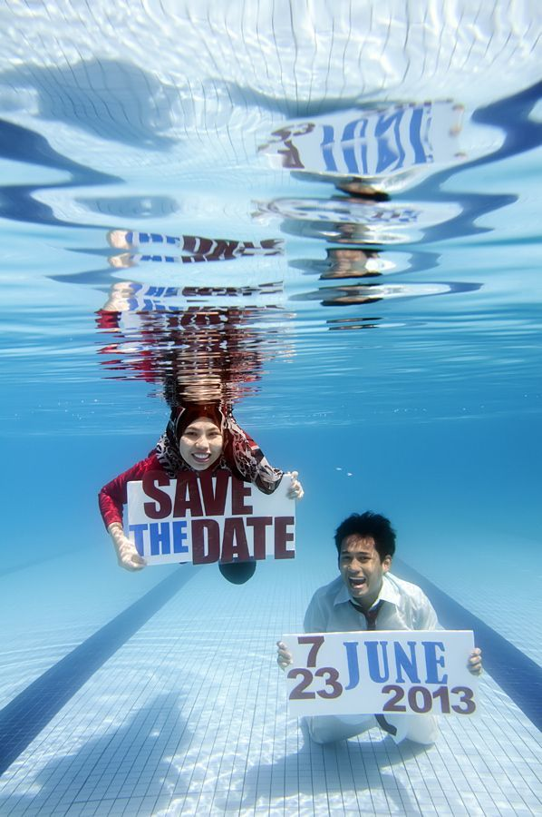 Underwater prewedding