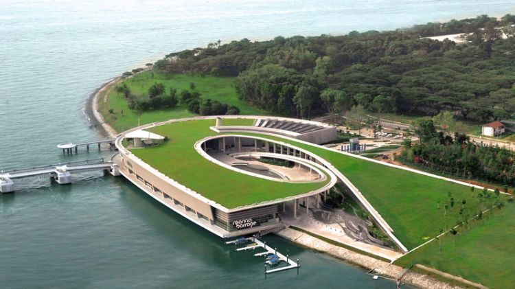 Marina Barrage, Singapura