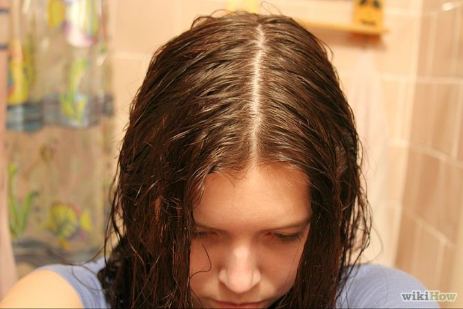 Ubah-ubah belahan rambut