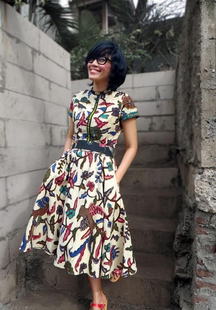 Dress model A-line