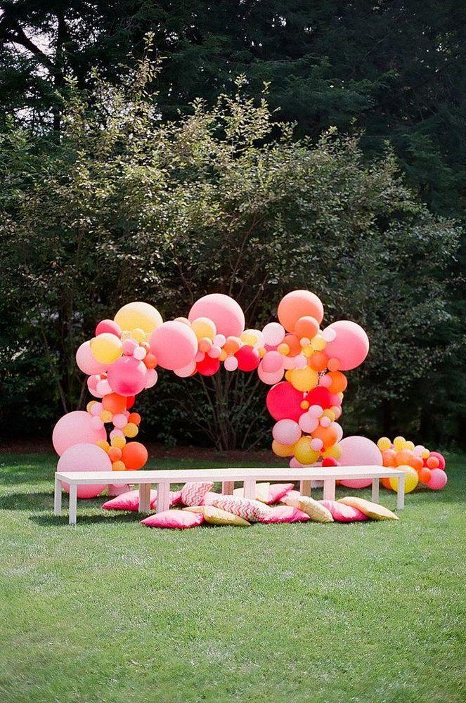 Gunakan balon untuk booth mu
