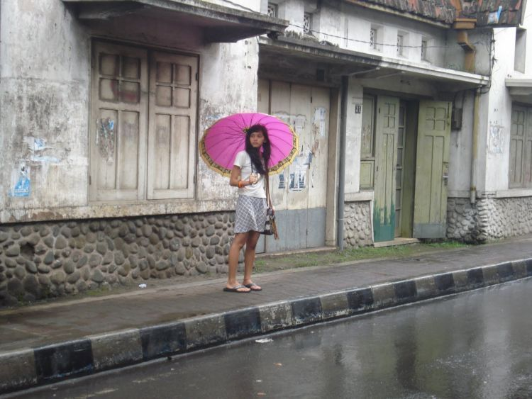Salah satu sudut Kota Lama Malang
