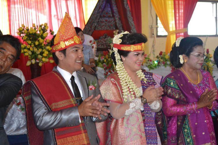 Marunjuk, puncak acara pesta perkawinan adat Batak
