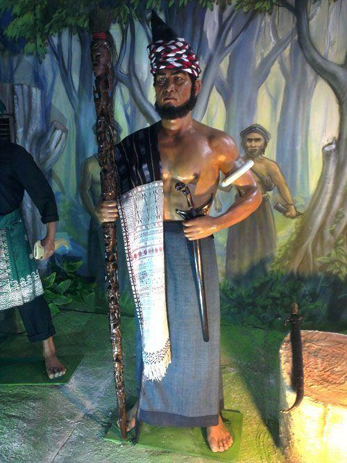 Diorama Sisingamangaraja XII
