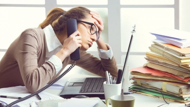 Hilang kontrol saat kerja