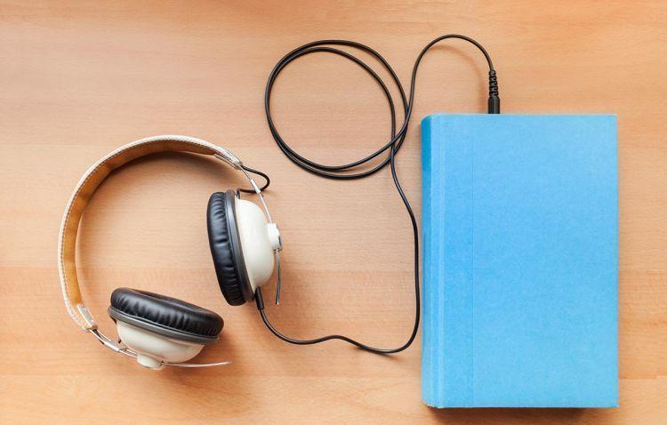 Mendengarkan audiobook