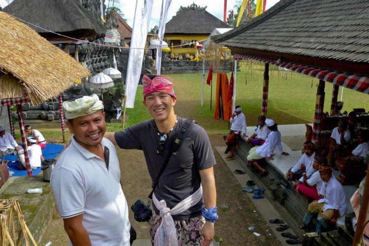 keramahan masyarakat Bali