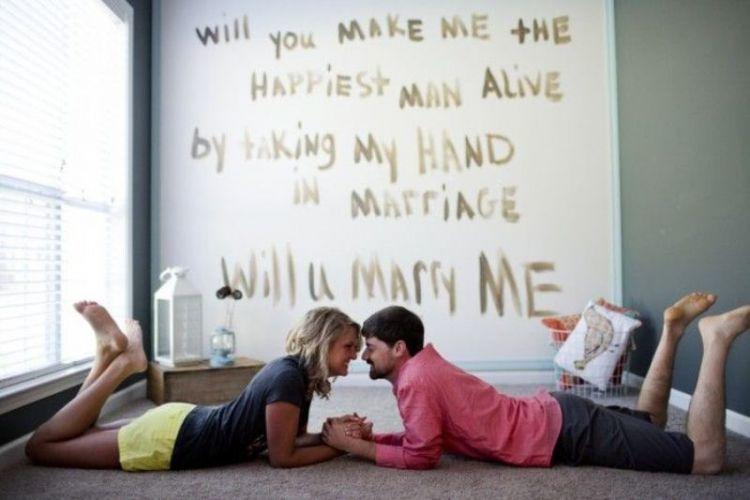 Aku ingin sebuah lamaran yang romantis
