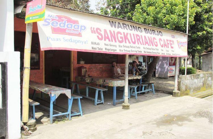 Burjo, salah satu tempat makan murah