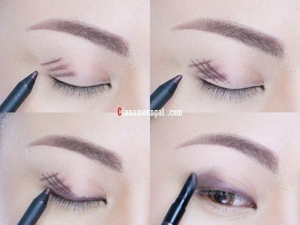 Smoky eyes dengan eyeliner
