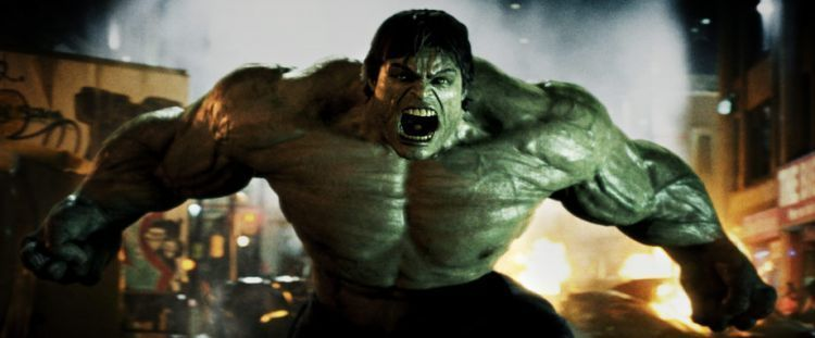 Kalau marah, badannya ngembang dan berwarna hijau.