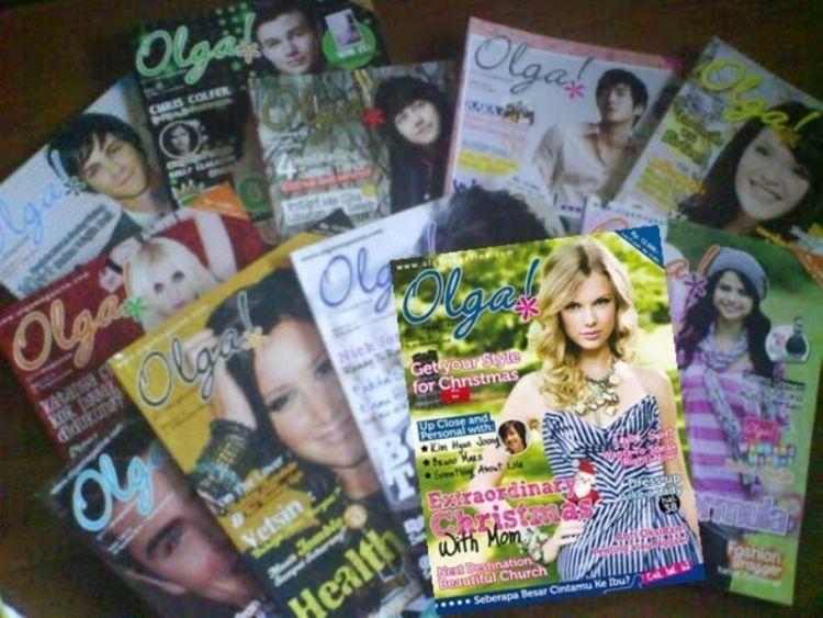 Koleksi majalah dengan cover Taylor Swift, akan digemari fans berat Taylor Swift.