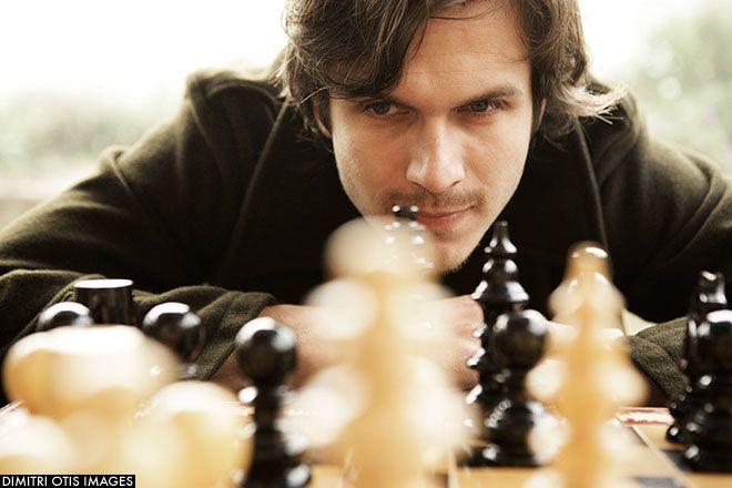 Cowok hobi main catur calon bapak